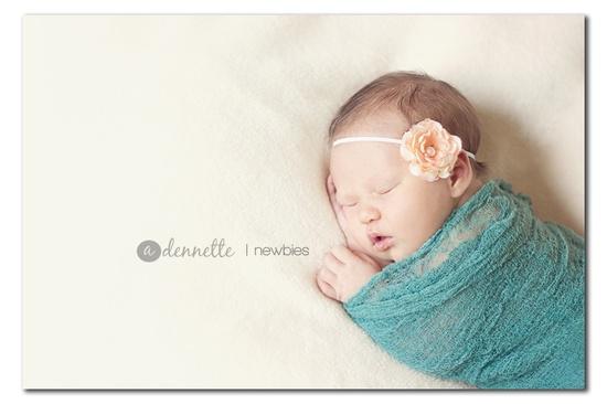 A lovely newborn photo.