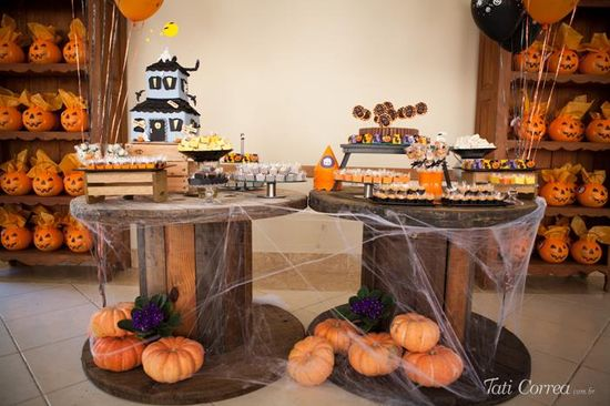 Halloween Birthday Party with Such Cute Ideas via Kara's Party Ideas