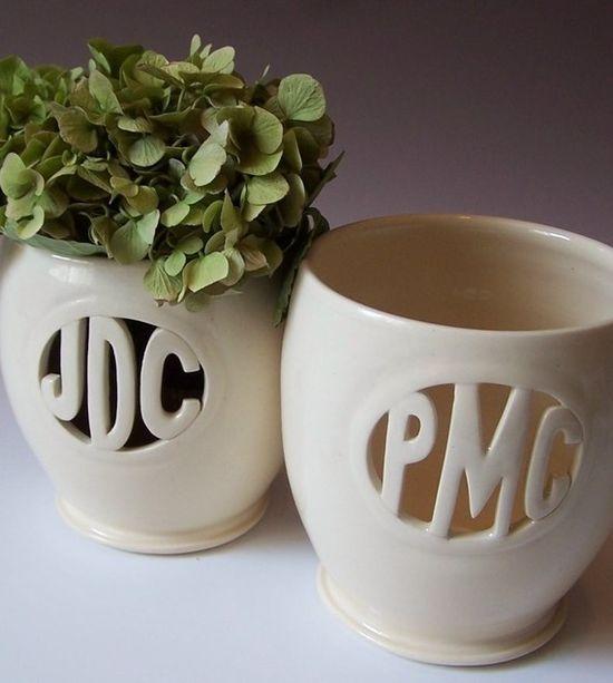 Monogram Vase ?