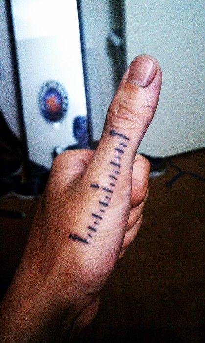 haha! a useful tattoo!
