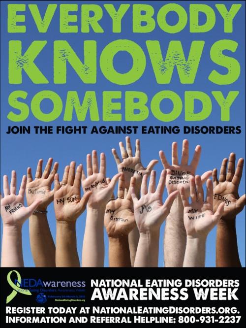 Everybody Knows Somebody: NEDAW 2013