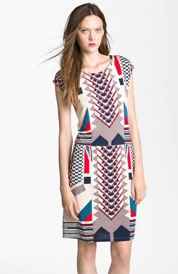 MARC BY MARC JACOBS 'Tinka' Print Jersey Dress available at #Nordstrom