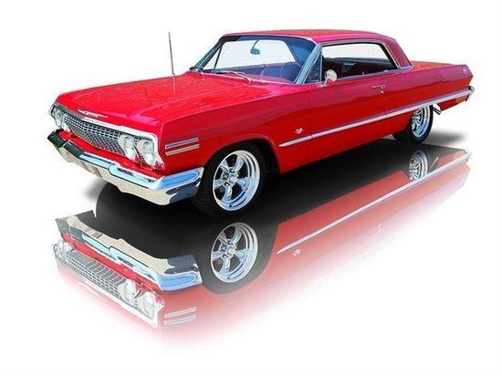 1963 Chevrolet Impala Super Sport 327 V8 4 Speed