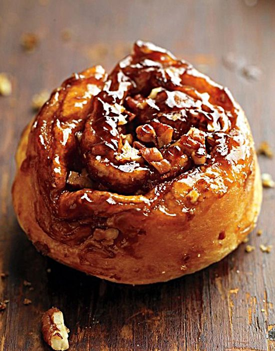 Recipe For Brown Sugar and Pecan Sticky Buns - Folding butter into the dough creates a flaky, rich result. This recipe works well with store-bought dough, but it's exceptional with homemade.