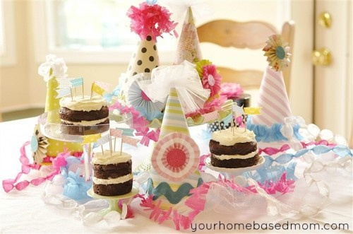 Birthday party hats tutorial