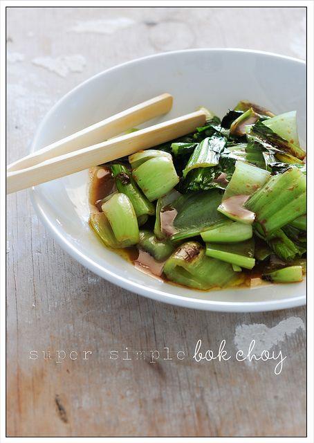vegan: green veg + miso dressing...