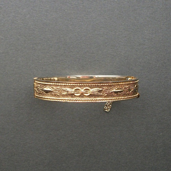 Victorian Revival Cuff Bracelet