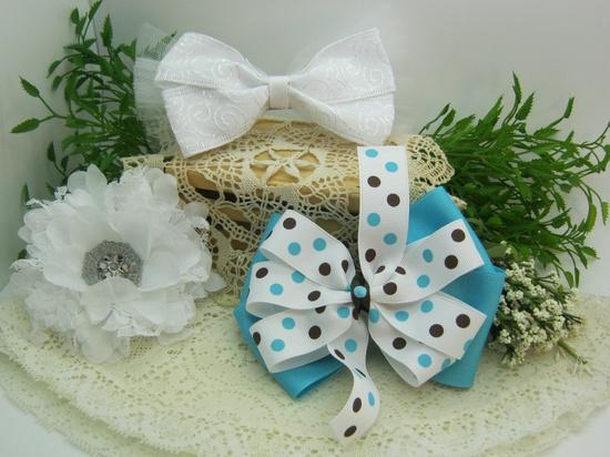 Michele's handmade bows