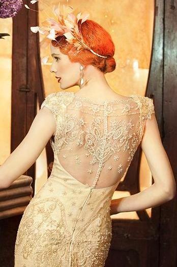 Yolan Cris designer gown