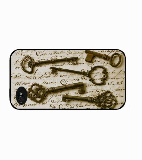 vintage keys iphone 4 case keys iphone case by IphoneDesign