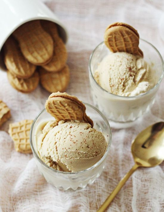Peanut butter and cayenne ice cream!