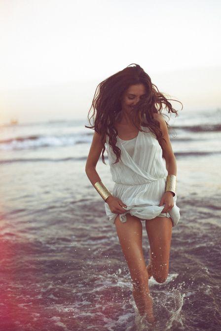 Summer Whites & Gold Cuffs!