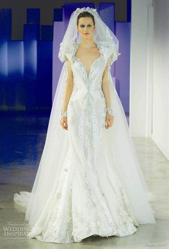 Pretty bridal gown