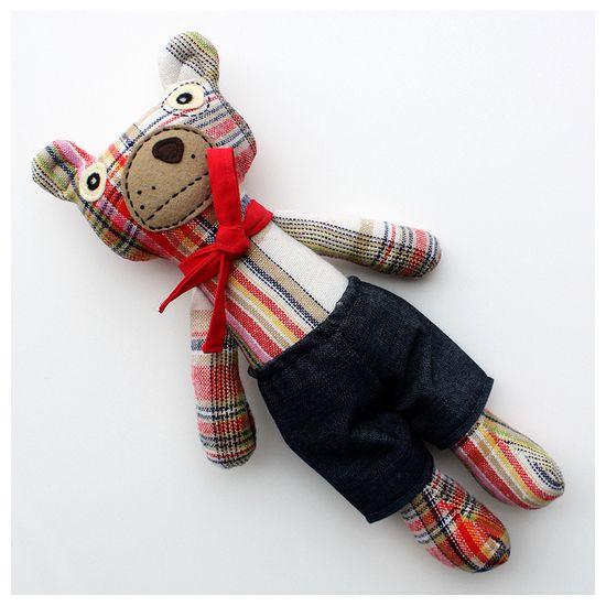 Googly-Eyed Boy Bear – Hasenpfeffer Incorporated