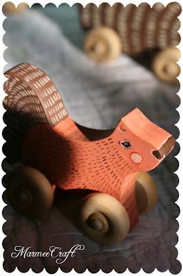 wooden wheel toy