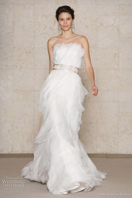 Oscar de la Renta Wedding Dresses Fall 2011