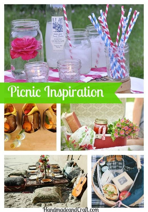 Picnic Inspiration...loads of ideas! #summer