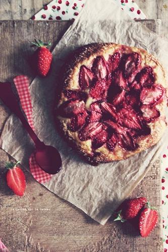 pizza aux abricots & miel, pizza aux fraises // styleing, light