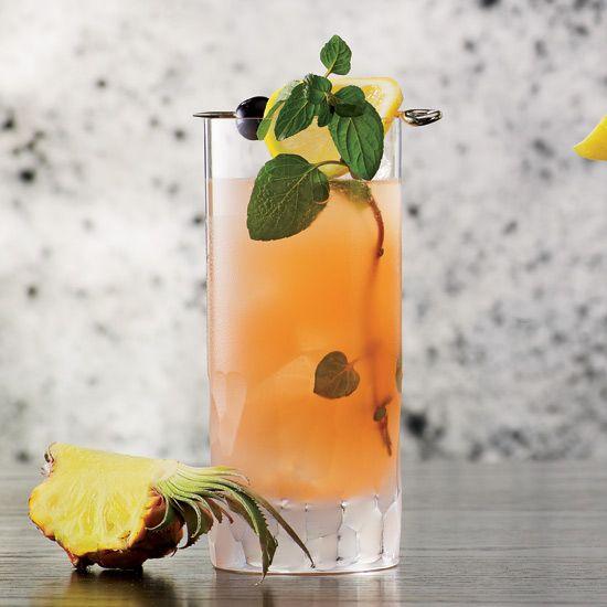 Gin, mint, soda, maraschino liqueur // More Amazing Gin Cocktails: www.foodandwine.c... #foodandwine