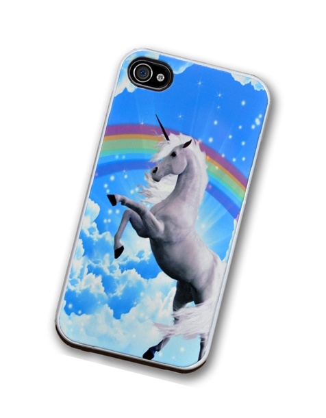 Unicorn Rainbow iPhone Case, fits iPhone 4 and