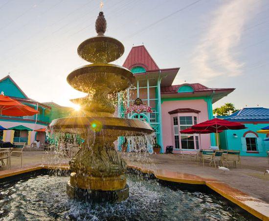 Disney's Caribbean Beach Resort. We love this Moderate Resort! #Disney