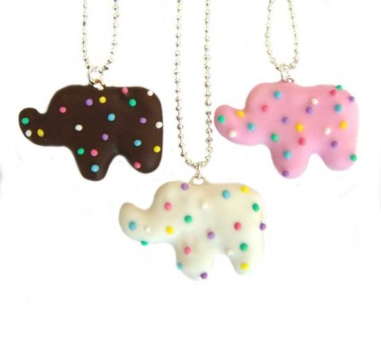 Animal cookie necklace!