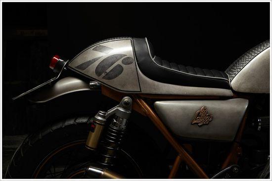1976 Kawasaki Z900 - 'La Latina 900'  - Pipeburn - Purveyors of Classic Motorcycles, Cafe Racers & Custom motorbikes