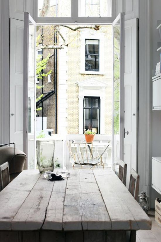 room with a view, rustic, London
