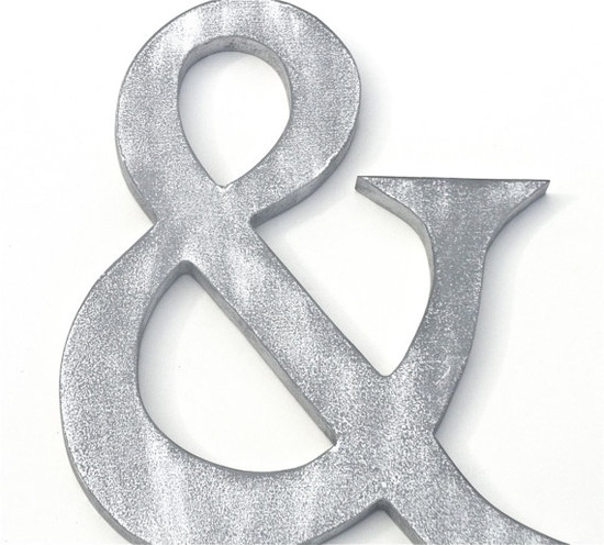 AMPERSAND SYMBOL by compulsivecollection on Etsy