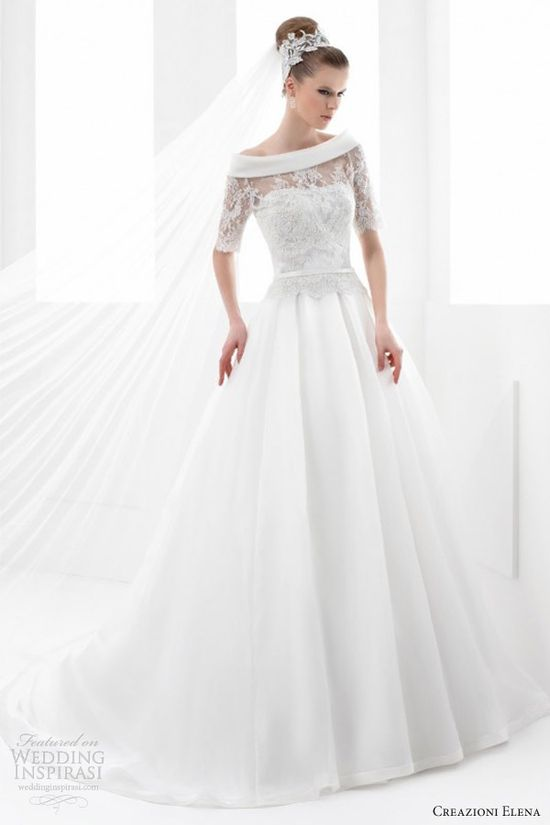 Creazioni elena 2013 wedding dress