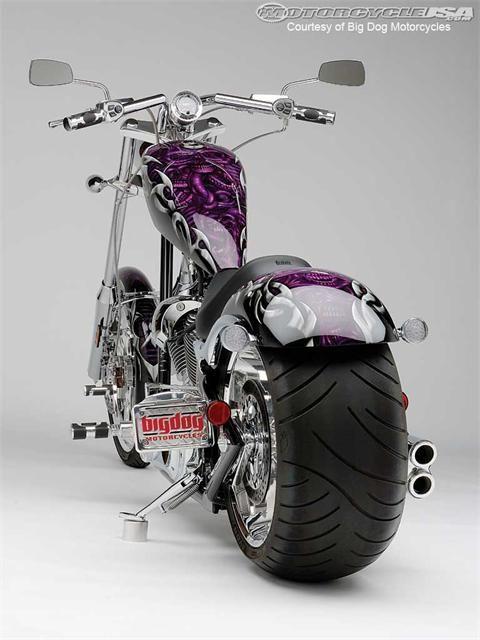Big Dog Motorcycles best-seller - the K-9.