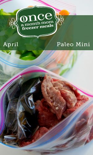 Paleo Mini April 2013 Menu and it's Whole30 compliant!