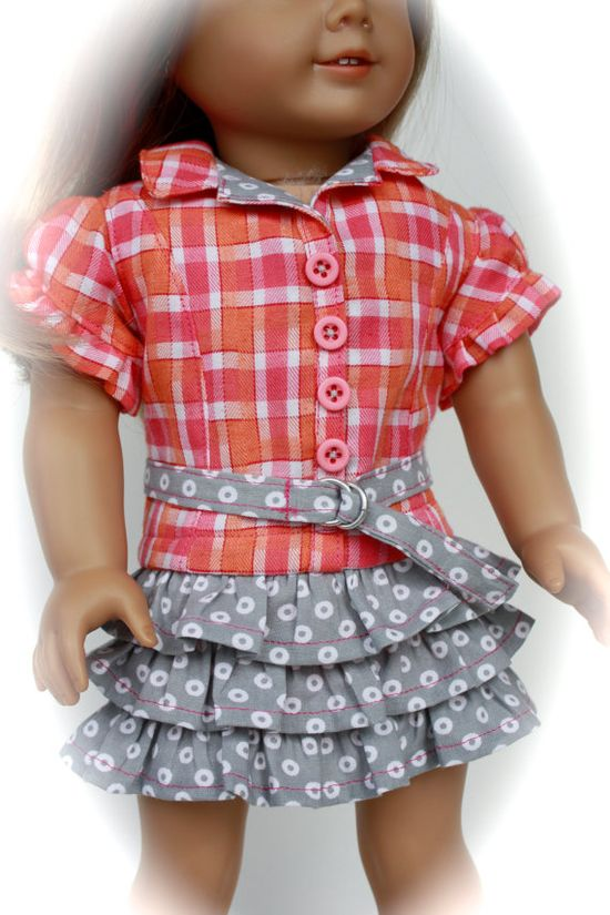 Trendy DRESS for American Girl made from popular  by closet4chloe, $22.00