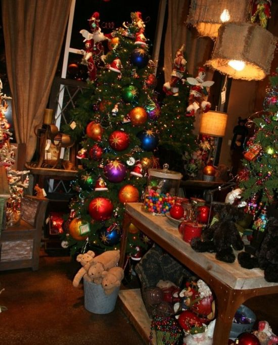 Cozy And Cool Rustic Christmas Decorations Ideas