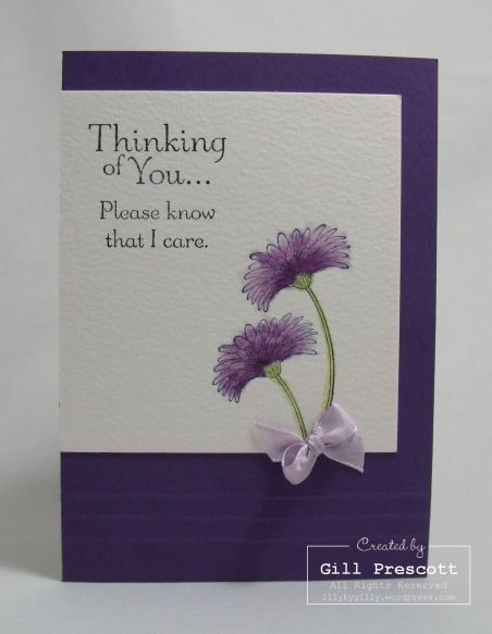 Think of you card