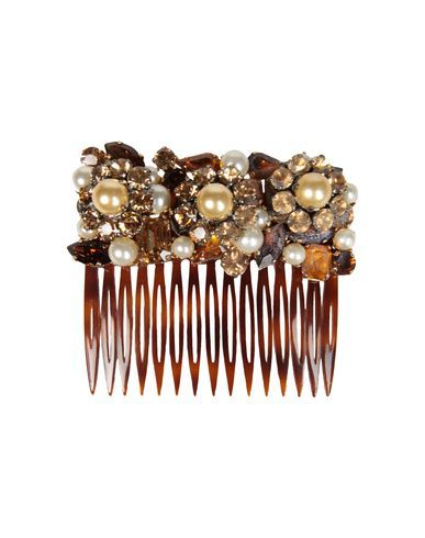 DOLCE & GABBANA - Hair accessory - would be really fun to try and make something like this.