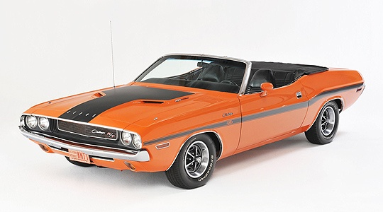 """""""Editor's Choice: 1970 Dodge Challenger Hemi R/T Cabriolet"""" (classicdriver.com)"""