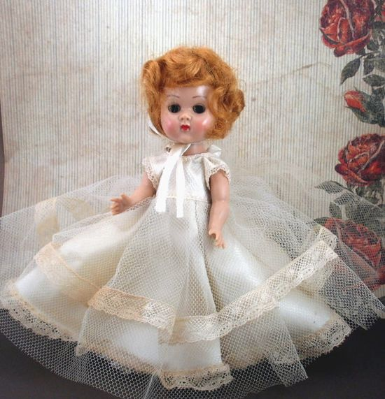 Vintage Ginny Vogue Bride Doll by neyneystreasures on Etsy, $68.00