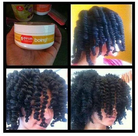 DEFINED TWIST OUT with Oyin Handmade Boing