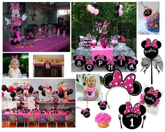 Mickey Mouse party set ups