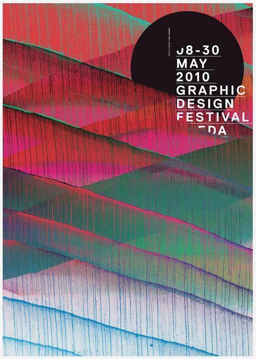 2010 Graphic Design Festival poster