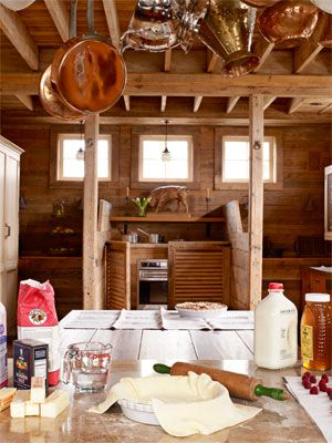 Before and After Kitchen Makeover Photos - Farmhouse Style Kitchen Design - House Beautiful by Mick De Giullo
