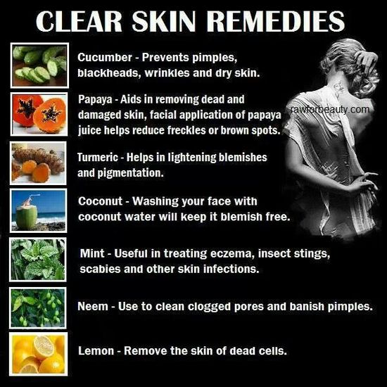 Clear Skin Remedies