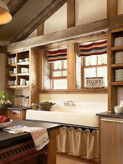 Rustic Kitchen #kitchen decorating before and after #kitchen interior