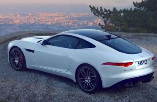 Jaguar F-Type Coupe.