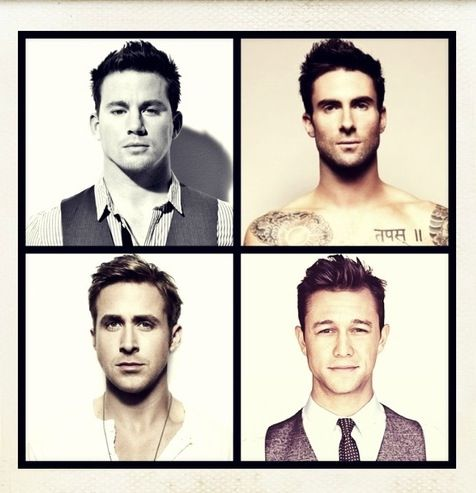 Eye candy : love all four : cute celebrity men
