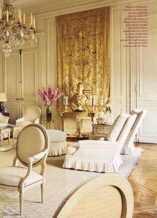 #living room design. henri samuel