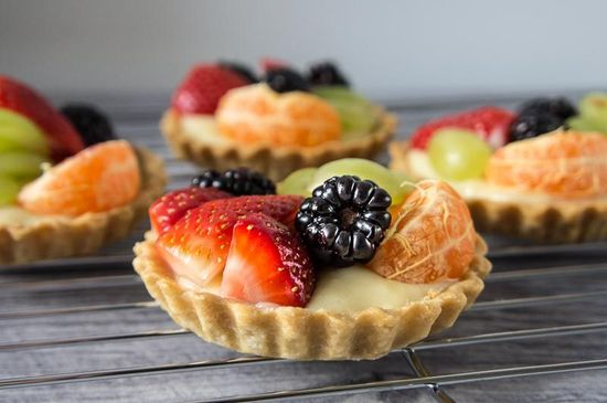 Fruit Tartlets by dailygourment.co.uk #Fruit_Tarts