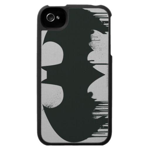 Bat Symbol - Batman Logo Spraypaint iPhone Covers