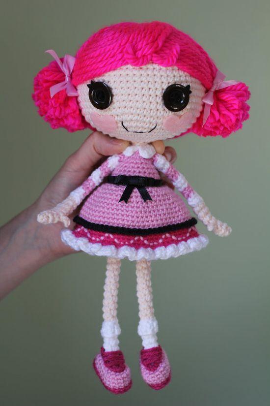 PATTERN: Lalaloopsy Toffee Cocoa Cuddles Crochet Amigurumi Doll